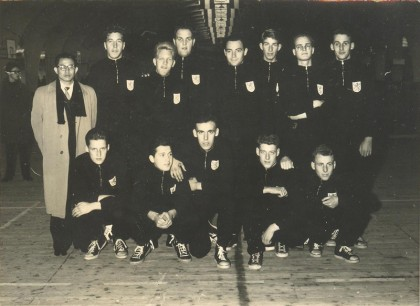 Nederlands team in 1956